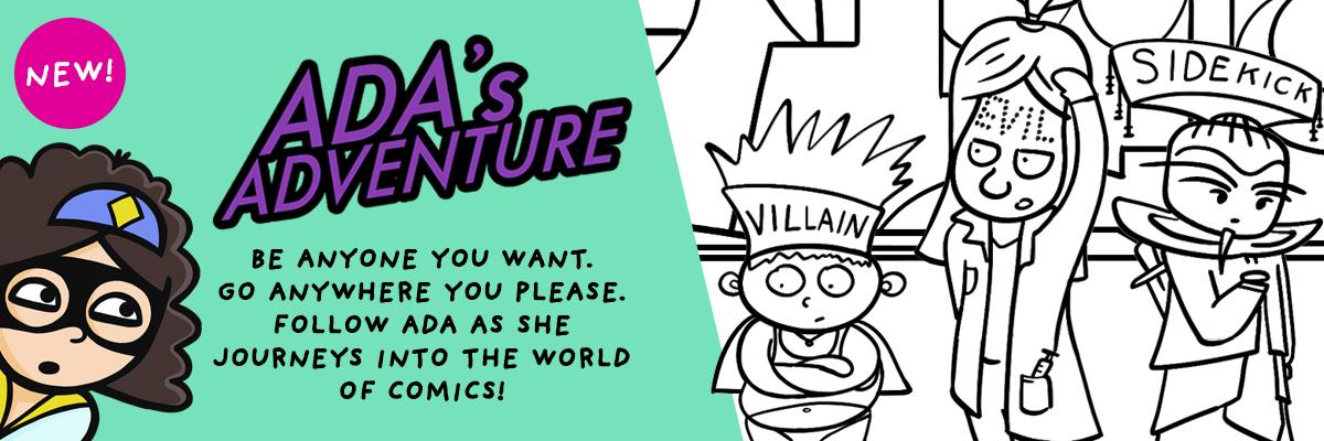 Ada Adventures Webcomic