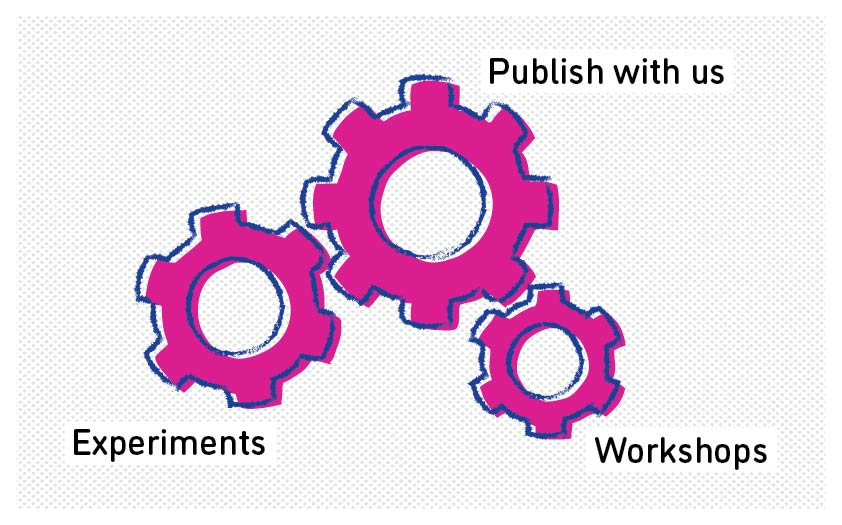publish with us experiments workshops