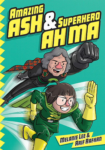 Amazing Ash & Superhero Ah Ma
