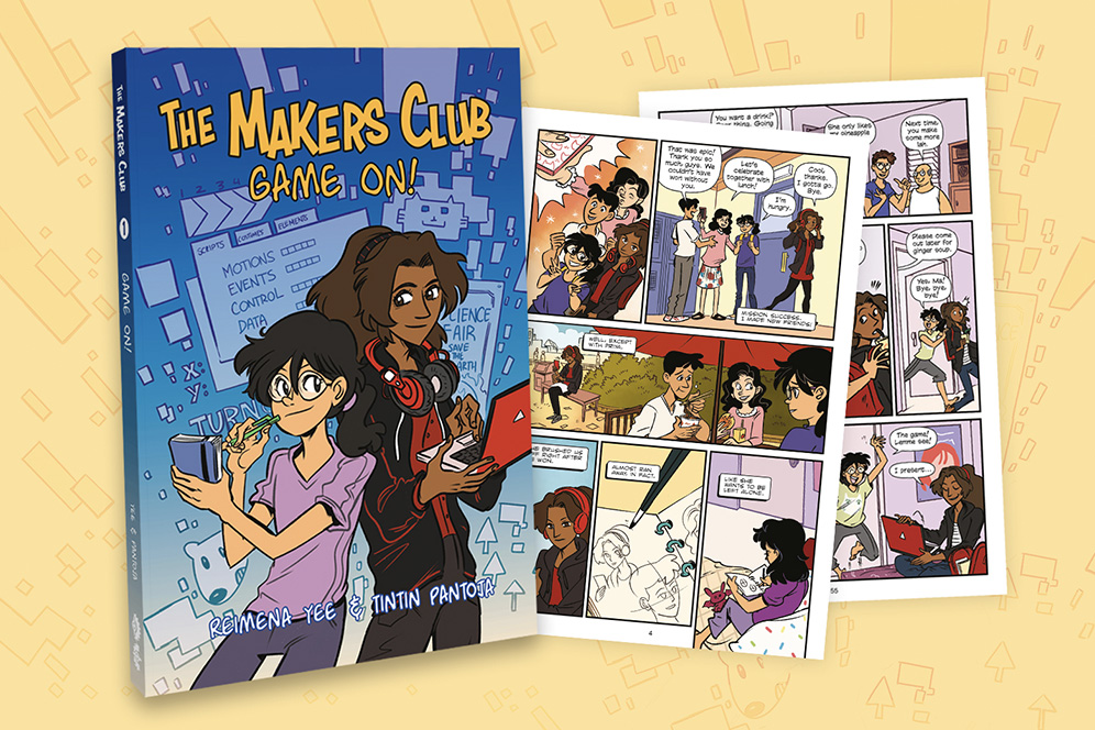 Excerpt for The Makers Club: Game On!