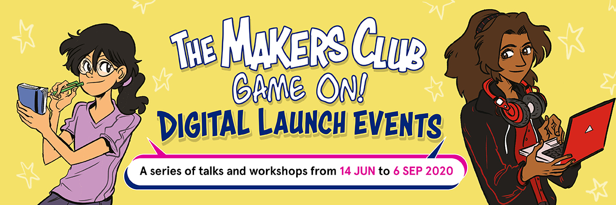 the makers club game on digital launch