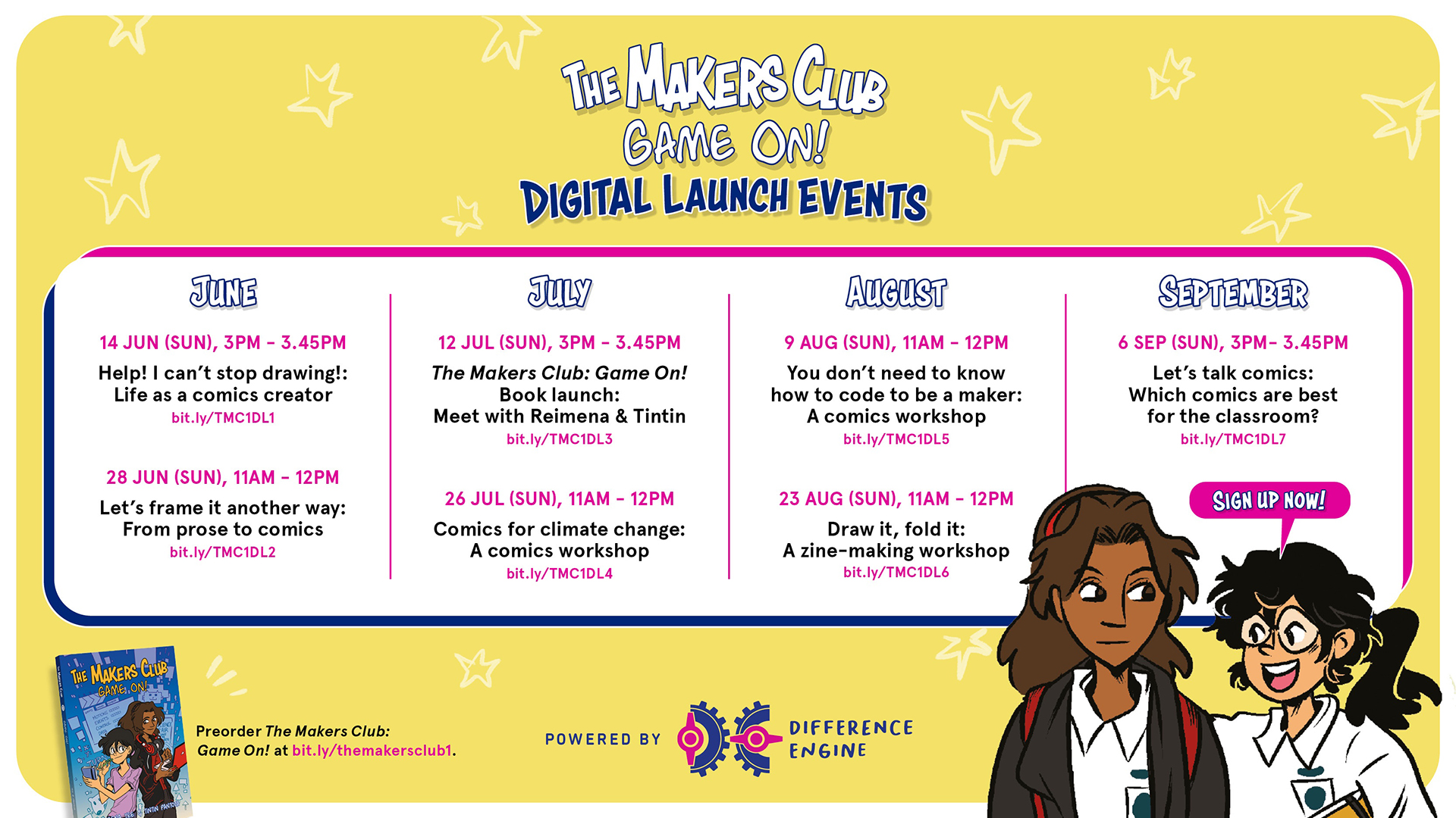 the makers club digital launch events full line up