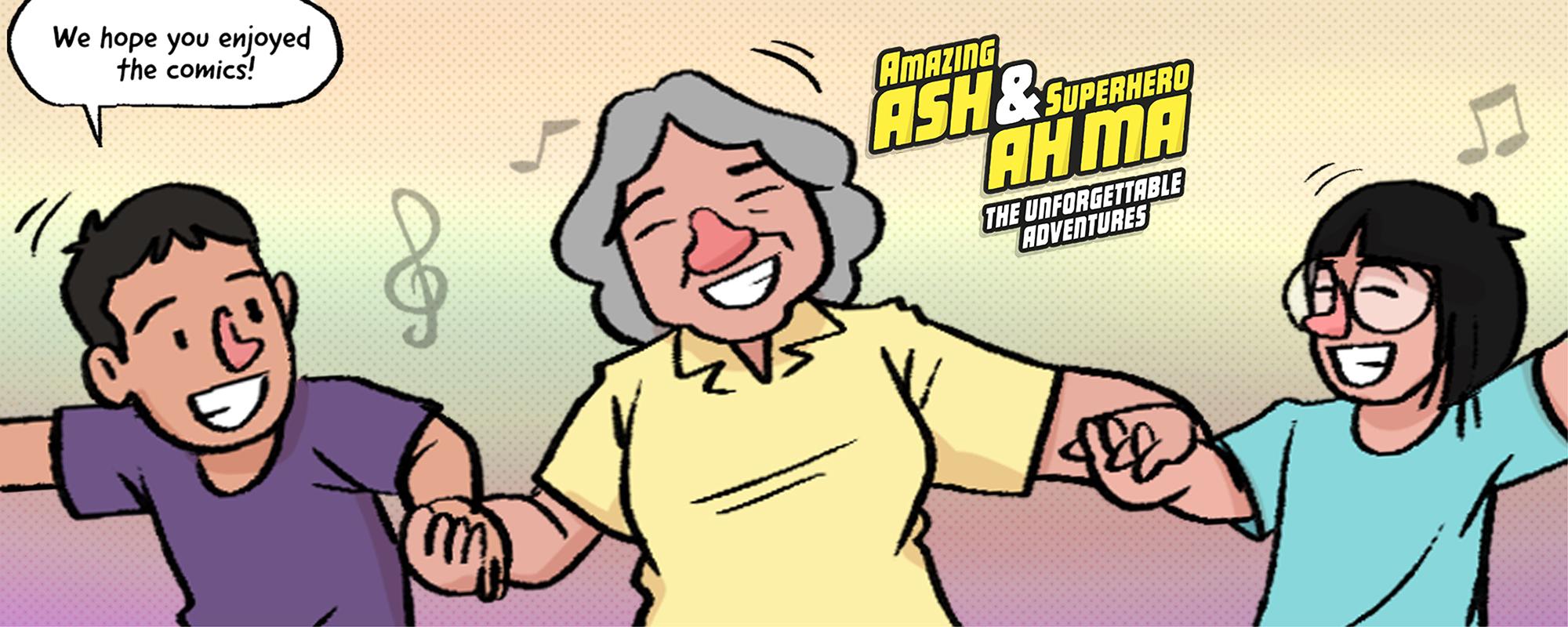 Amazing Ash & Superhero Ah Ma: The Unforgettable Adventures