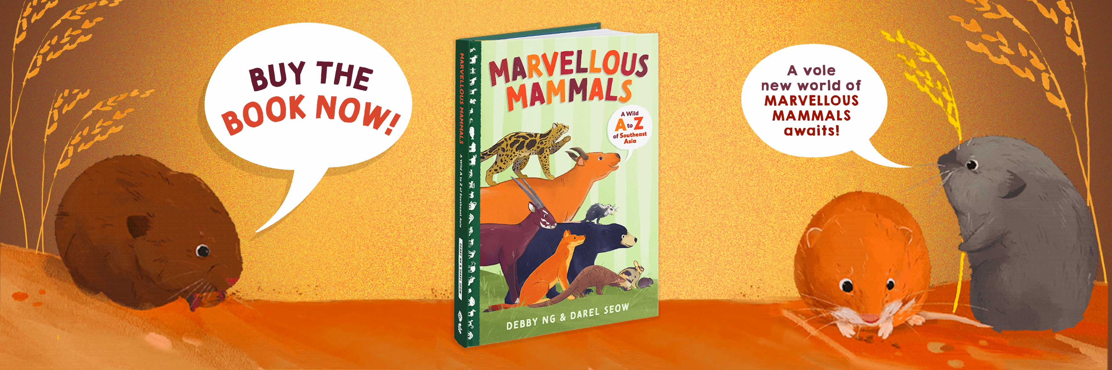 Marvellous Mammals Buy The Book Now